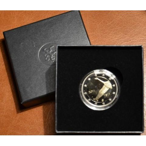 2 Euro Fínsko 2011 - 200. založenia Fínskej národnej banky (Proof)