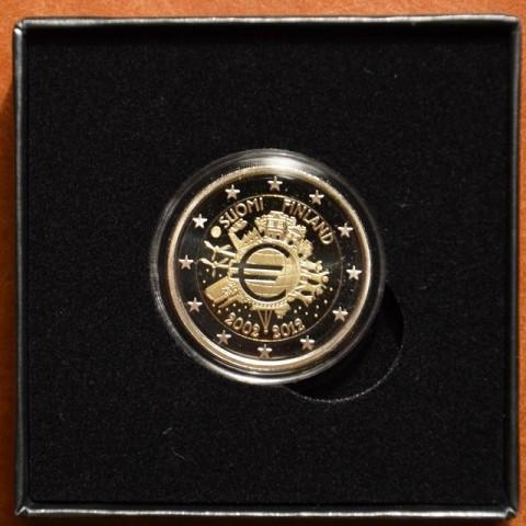 2 Euro Fínsko 2012 - 10. výročia vzniku Eura (Proof)