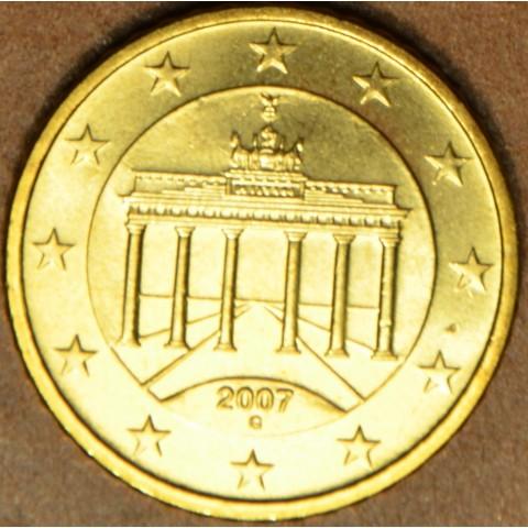 """50 cent Nemecko """"G"""" 2007 (UNC)"""