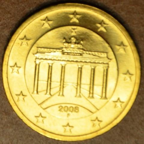 "50 cent Nemecko ""F"" 2008 (UNC)"
