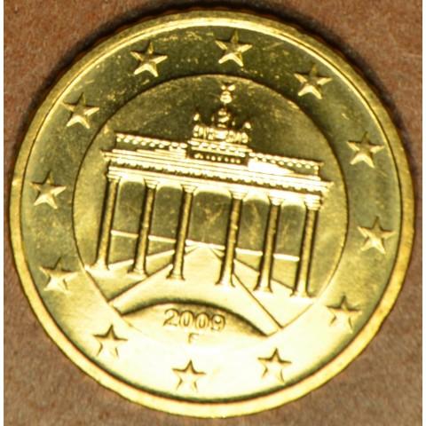 "50 cent Nemecko ""F"" 2009 (UNC)"