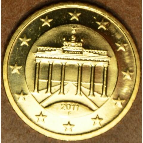 "50 cent Nemecko ""F"" 2011 (UNC)"