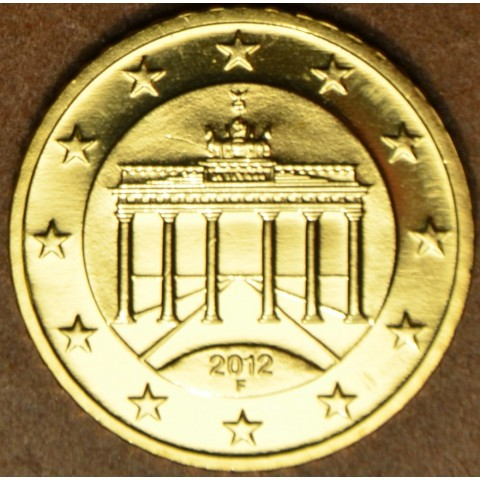 "50 cent Nemecko ""F"" 2012 (UNC)"