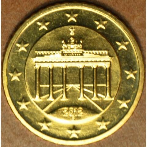 """50 cent Nemecko """"G"""" 2012 (UNC)"""