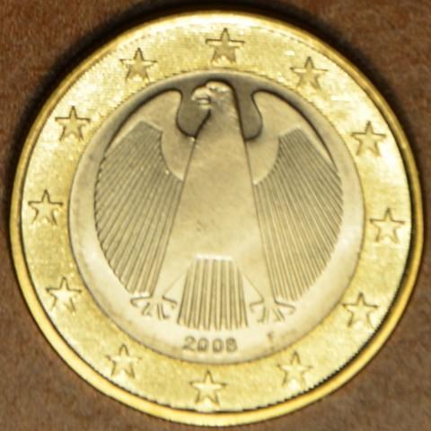 """1 Euro Nemecko """"F"""" 2008 (UNC)"""