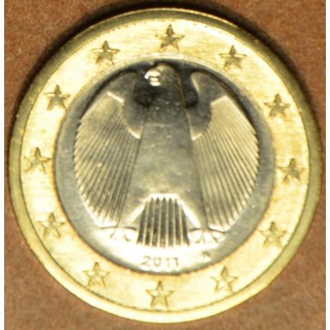"""1 Euro Nemecko """"A"""" 2011 (UNC)"""
