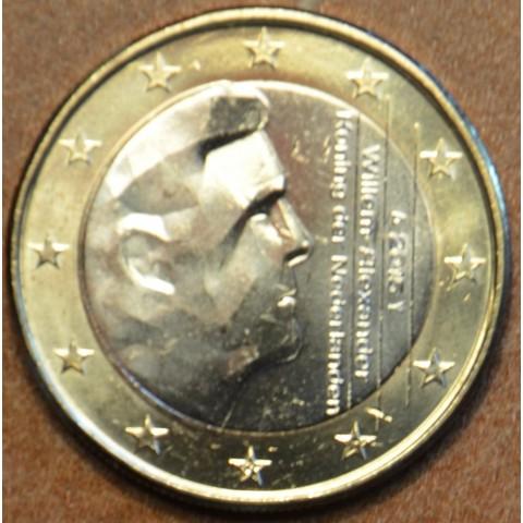 1 Euro Holandsko 2015 - Kráľ Willem Alexander (UNC)