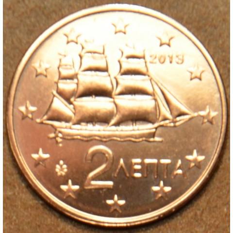 2 cent Grécko 2013 (UNC)