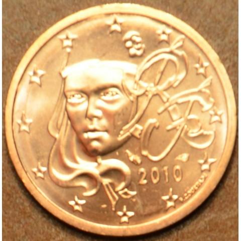 2 cent Francúzsko 2010 (UNC)