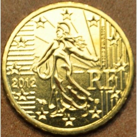 10 cent Francúzsko 2012 (UNC)