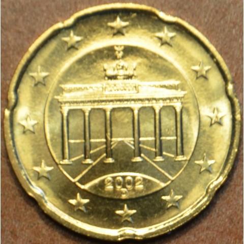 """20 cent Nemecko """"D"""" 2002 (UNC)"""