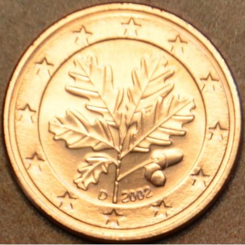 """1 cent Nemecko """"D"""" 2002 (UNC)"""