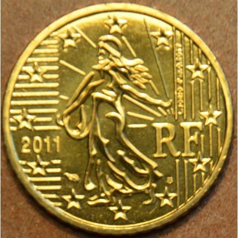 50 cent Francúzsko 2011 (UNC)