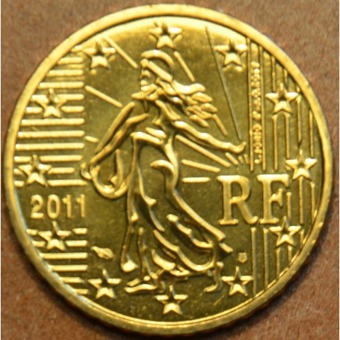 10 cent Francúzsko 2011 (UNC)
