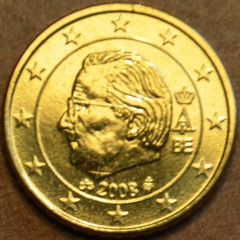 50 cent Belgicko 2008 (UNC)