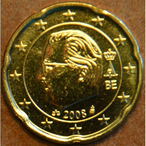 20 cent Belgicko 2008 (UNC)