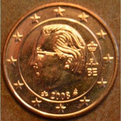 2 cent Belgicko 2008 (UNC)