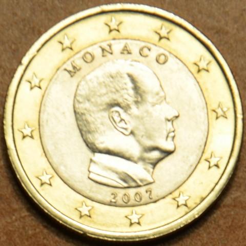 1 Euro Monaco 2007 bez značky (UNC)