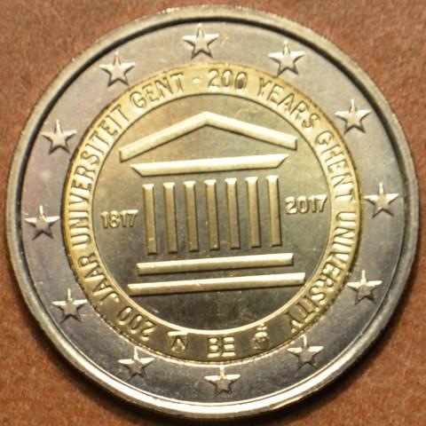 2 Euro Belgicko 2017 - Univerzita v Gente (UNC)