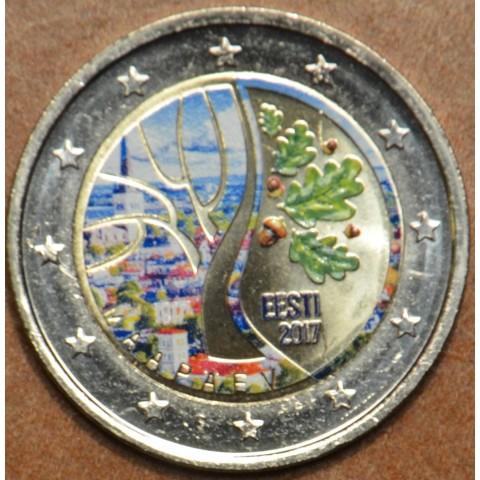 2 Euro Estónsko 2017 - Cesta k nezávislosti II. (farebná UNC)