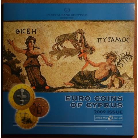 Sada 9 euromincí Cyprus 2009 (BU)