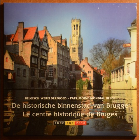 Sada 8 belgických mincí 2010 (BU)