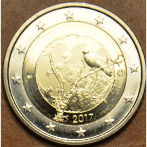 Poškodená 2 Euro Fínsko 2017 - Fínska príroda (UNC)