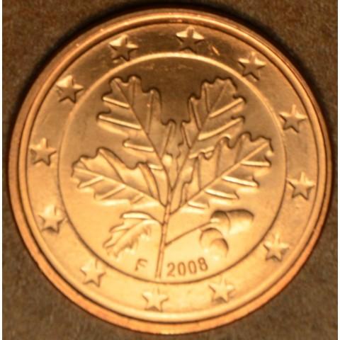 "1 cent Nemecko ""F"" 2008 (UNC)"