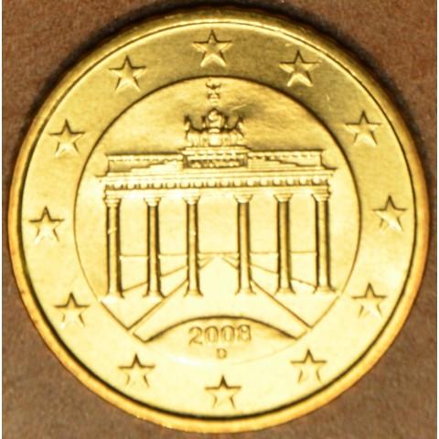 """10 cent Nemecko """"D"""" 2008 (UNC)"""