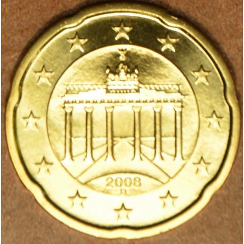 """20 cent Nemecko """"D"""" 2008 (UNC)"""