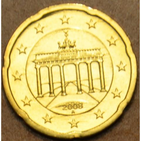 """20 cent Nemecko """"A"""" 2008 (UNC)"""