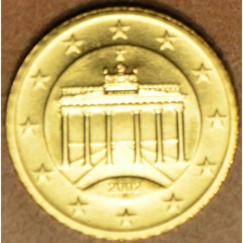 """10 cent Nemecko """"A"""" 2002 (UNC)"""