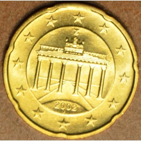 """20 cent Nemecko """"A"""" 2002 (UNC)"""