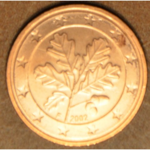 "2 cent Nemecko ""F"" 2002 (UNC)"