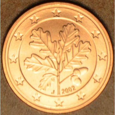 """5 cent Nemecko """"J"""" 2002 (UNC)"""