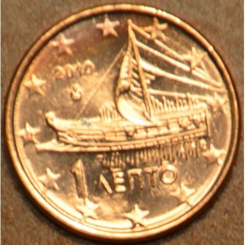 1 cent Grécko 2010 (UNC)