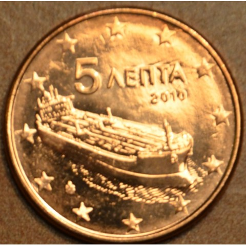 5 cent Grécko 2010 (UNC)
