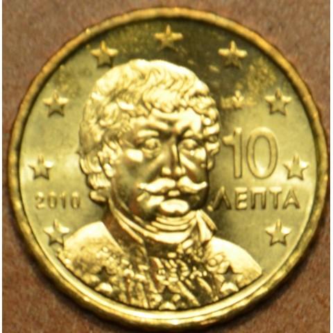10 cent Grécko 2010 (UNC)