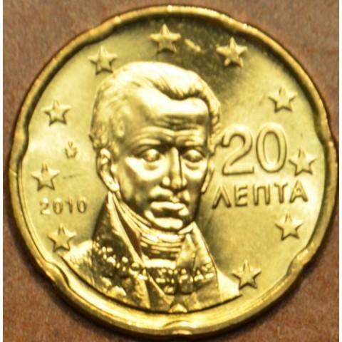 20 cent Grécko 2010 (UNC)