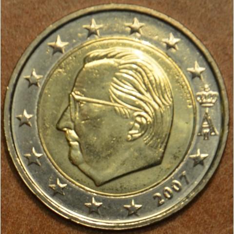 2 Euro Belgicko 2007 - Albert II.  (UNC)