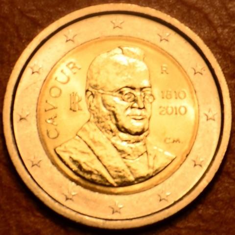 2 Euro Taliansko 2010 - 200. výročie narodenia grófa di Cavoura, Camilla Bensa (UNC)