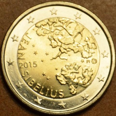 Poškodená 2 Euro Fínsko 2015 - Jean Sibelius (UNC)