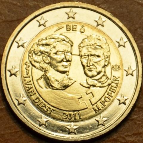 2 Euro Belgicko 2011 - 100. výročie MDŽ  (UNC)