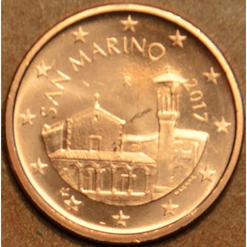 5 cent San Marino 2017 - Nový design (UNC)