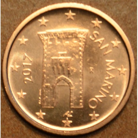 2 cent San Marino 2017 - Nový design (UNC)