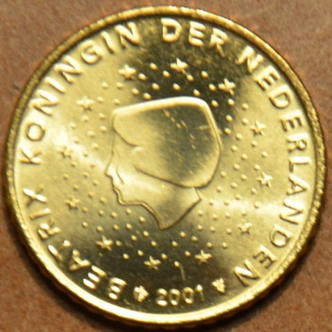 50 cent Holandsko 2001 (UNC)