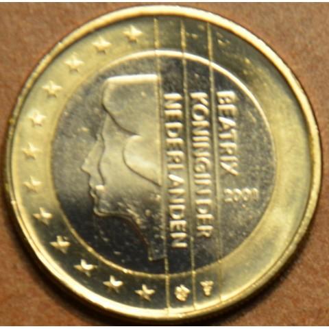 1 Euro Holandsko 2001 - Kráľovná Beatrix (UNC)