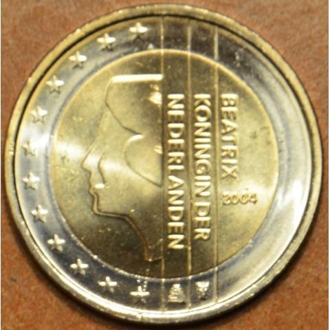 2 Euro Holandsko 2004 - Kráľovná Beatrix (UNC)