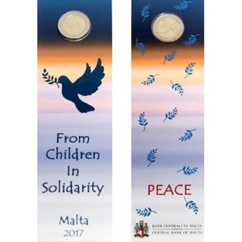2 Euro Malta 2017 - Solidarita s deťmi (UNC)