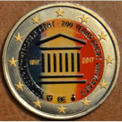 2 Euro Belgicko 2017 - Univerzita v Gente (farebná UNC)